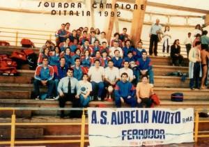 Squadra Campione d'Italia 1992