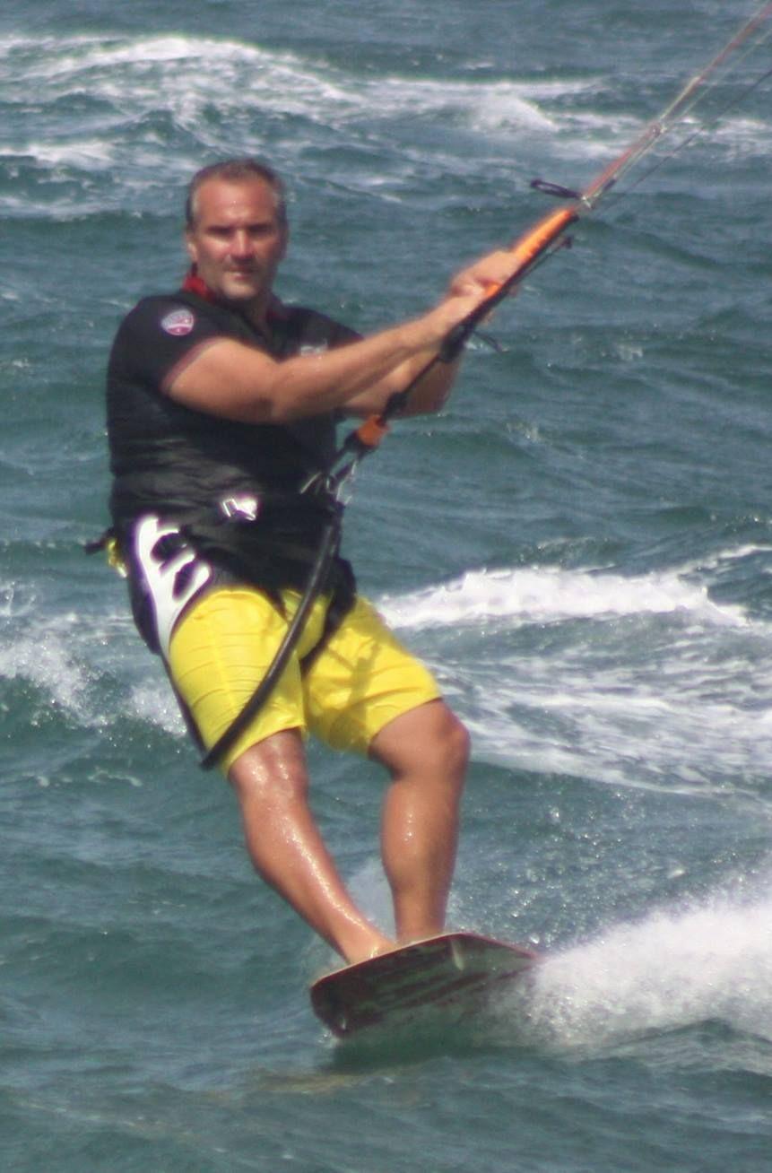 Lorenzo Gennari Kitesurf Nuoto Aurelia